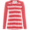 Bergans Ryvingen - Camiseta de manga larga Mujer - rojo